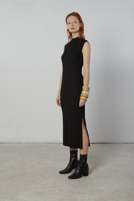 Nomia Mock Neck Maxi Dress