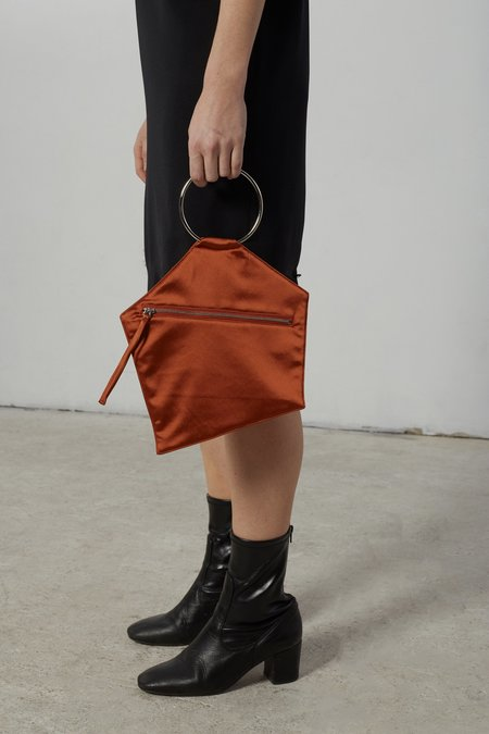 Nomia Polygon Clutch - Rust