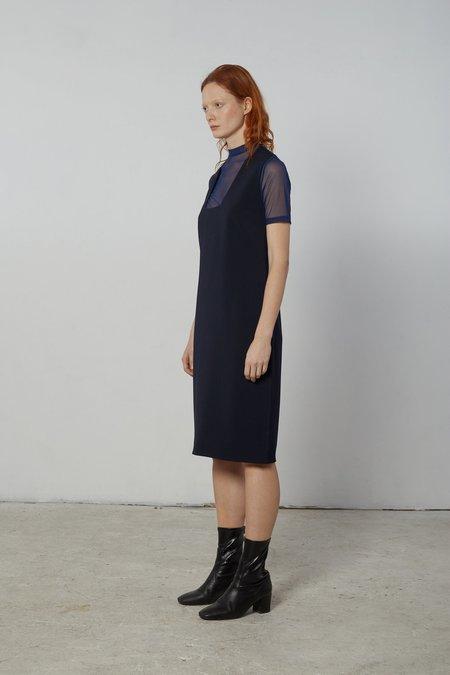 Nomia Square Neck Dress - Midnight
