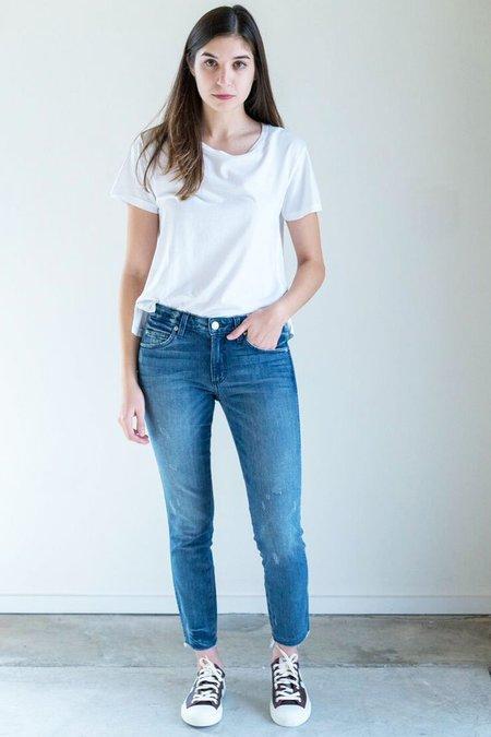 Amo Denim Stix Crop Jeans in Wildcat