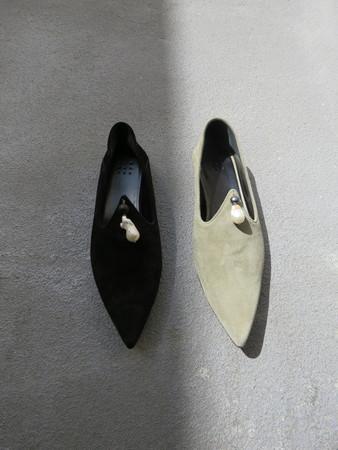 TRADEMARK VERMEER SLIPPER - BLACK