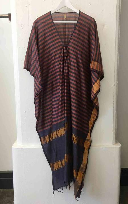 Two One Of A Kind Striped Caftan