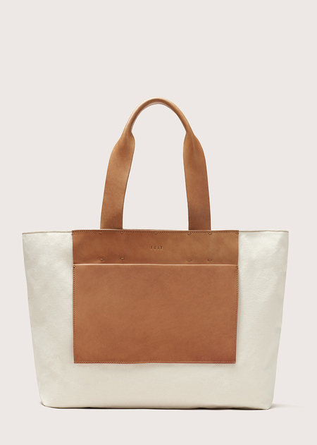 FEIT Large Tote - Natural Canvas