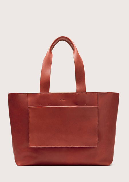 FEIT Large Tote Bag - Rust