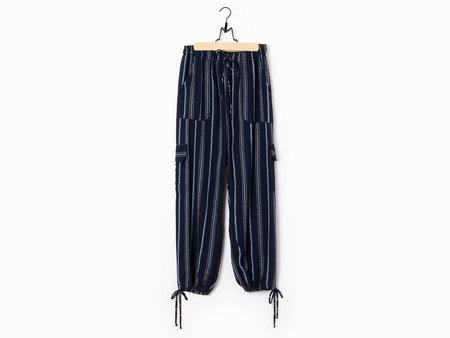 Warm HH Pants - Navy Stripe