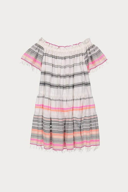 Lemlem Kal Off The Shoulder Dress in Pink
