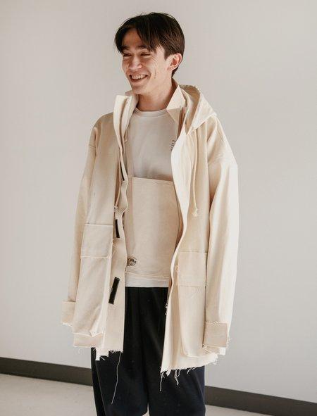 Camiel Fortgens Raincoat - White
