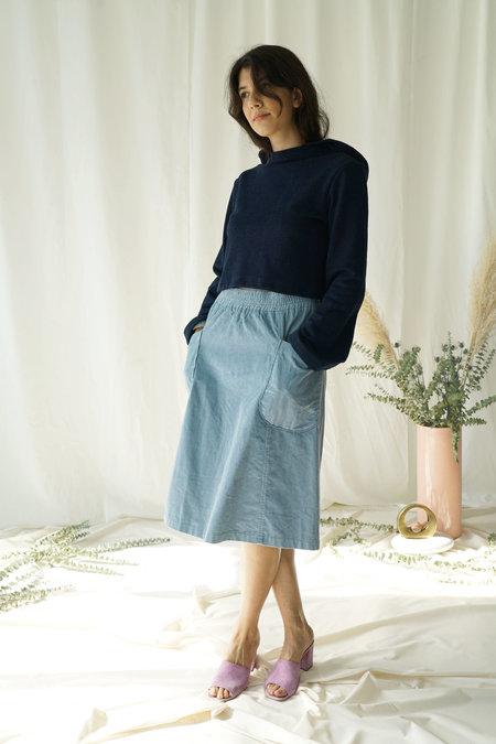 Selva Negra Colette Skirt in Rain Corduroy