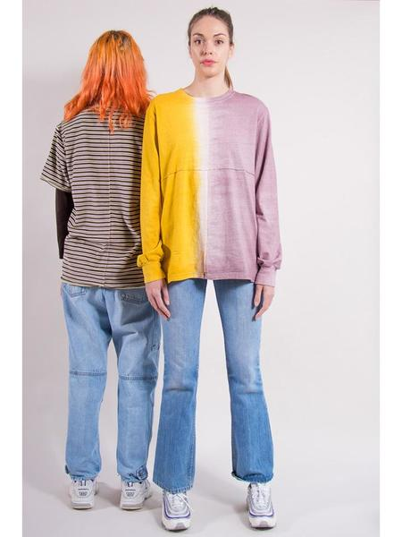 Eckhaus Latta Lapped Long Sleeve - Two Tone