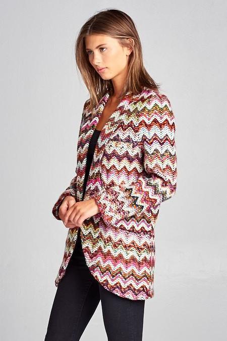 Ellison Deep Rainbow Jacket