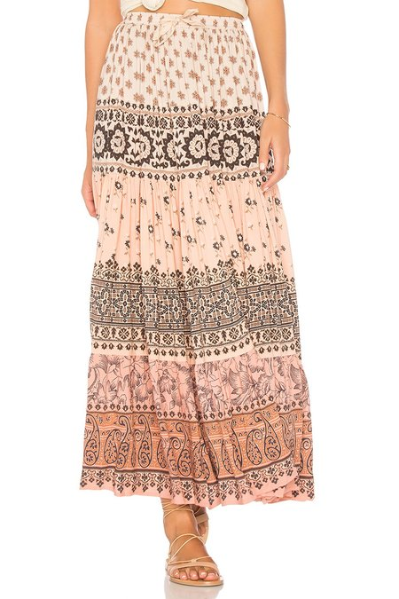 SPELL & THE GYPSY COLLECTIVE Lionheart Maxi Skirt In Sundown
