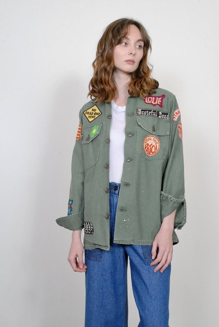 Madeworn The Grateful Dead Jacket Army Jacket