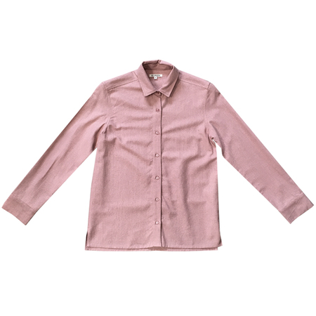Ali Golden BUTTON-DOWN SHIRT - DUSTY ROSE