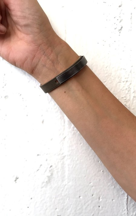 Unisex Ursul - Grey with Steel Matte Cuff