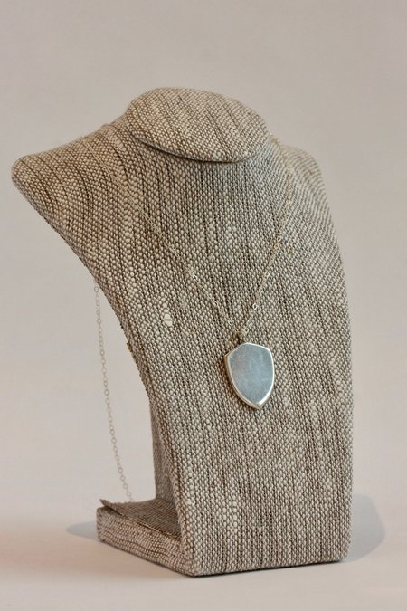 Jené DeSpain Silver Armour Necklace