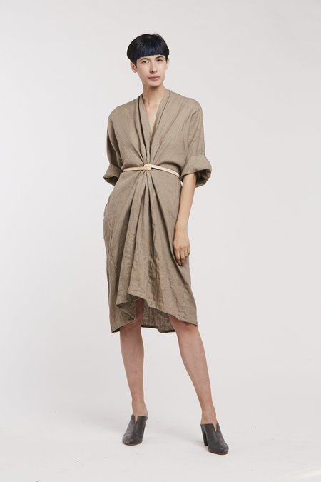Miranda Bennett O'Keefe Dress, Linen in Sardinia