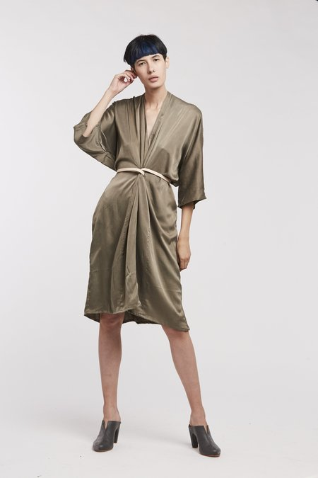 Miranda Bennett O'Keefe Dress, Silk Charmeuse in Lanai
