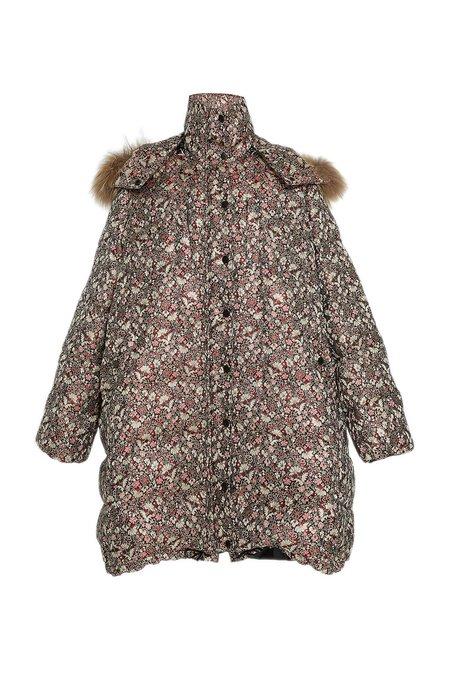 Ulla Johnson Roi Metallic Coat