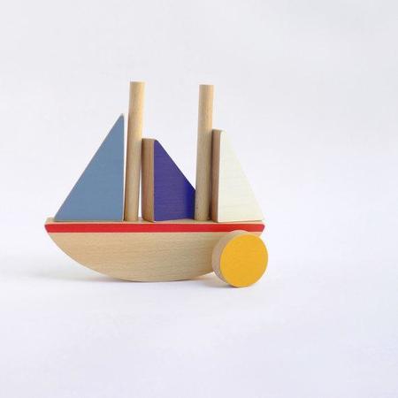 The Wandering Workshop Wooden Boat
