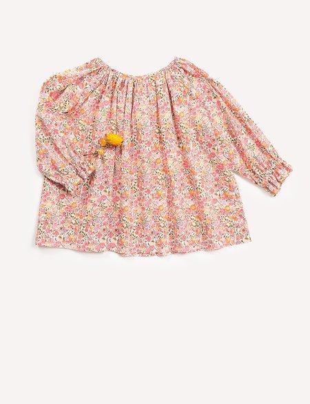 Kids Petits Vilains Clothier Margaux Raglan Tunic - Floral
