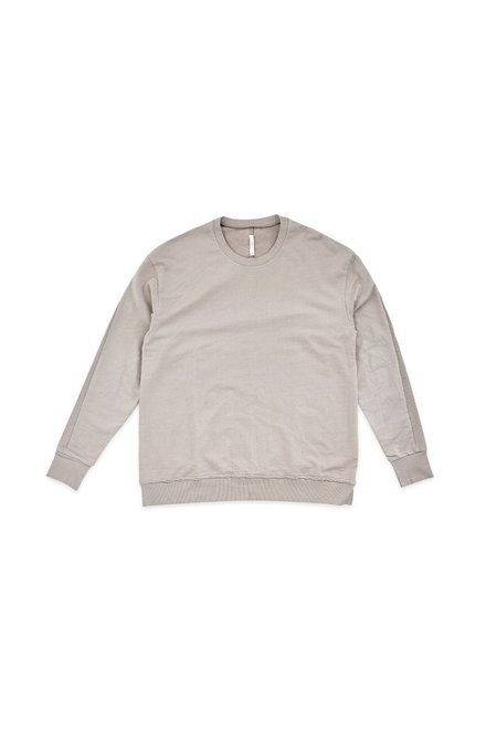 COMMONERS BOXY CREW - STONE