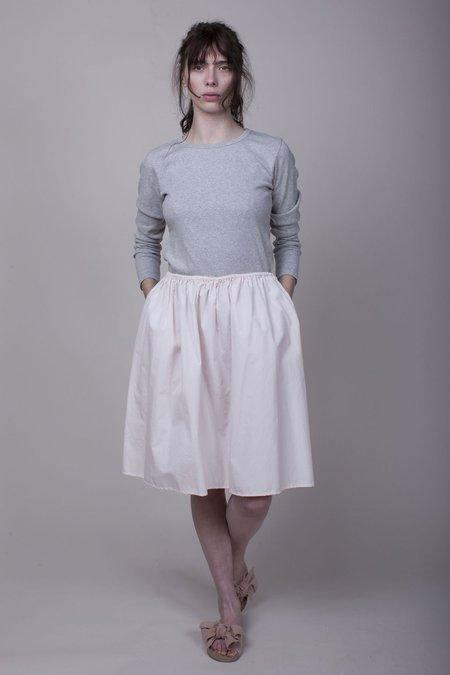 Pip-squeak Chapeau Etc. Slim Gathered Skirt - Blush