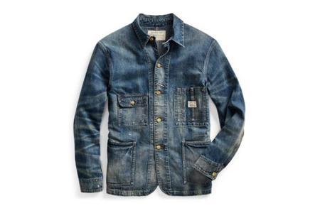 RRL Denim Chore Jacket - Goodsprings Wash