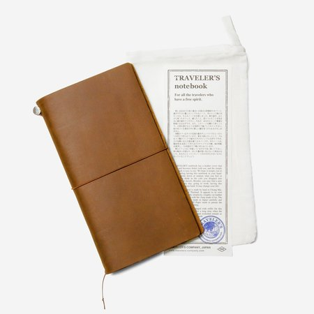 TRAVELER'S COMPANY CAMEL TRAVELER'S NOTEBOOK