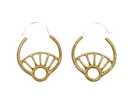 Stefanie Sheehan Day Dream Hoop Earrings