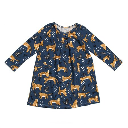 Kid's Winter Water Factory Aspen Toddler Dress - Wildcats Navy