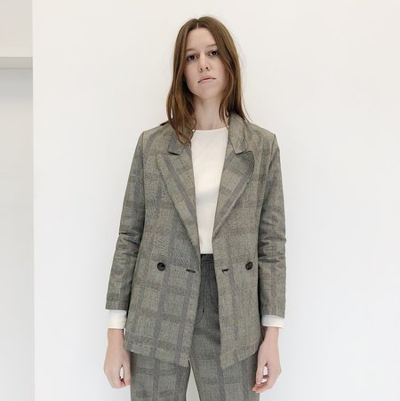 Laurs Kemp Glen Plaid Donna Blazer