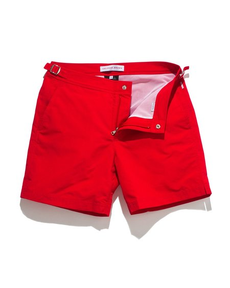 Orlebar Brown Bulldog Swim Shorts - Red