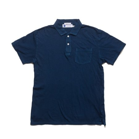 Industry of All Nations Clean Polo - 12 Dips Indigo